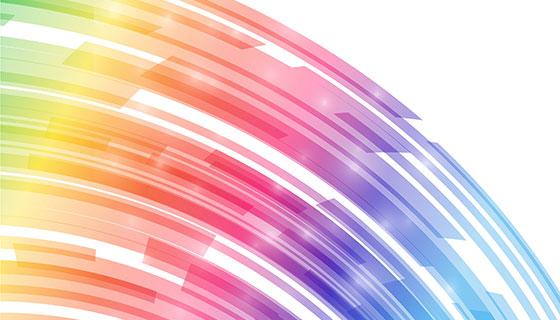 多彩抽象背景矢量素材(EPS/AI)