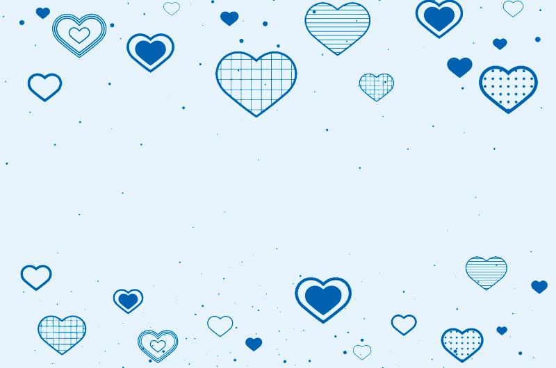 各种各样的爱心背景矢量素材(EPS)