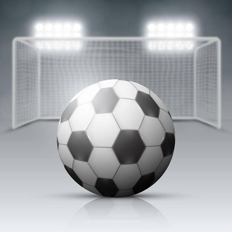 足球和足球场背景矢量素材(EPS/AI)