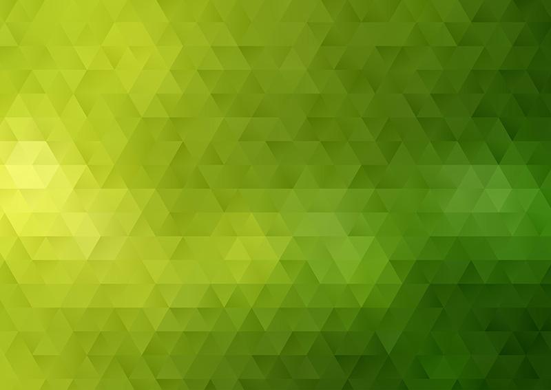 绿色抽象低多边形背景矢量素材(EPS)