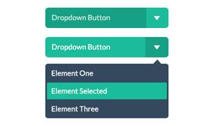 Flat UI – 绿色风格精致UI PSD/HTML套装下载