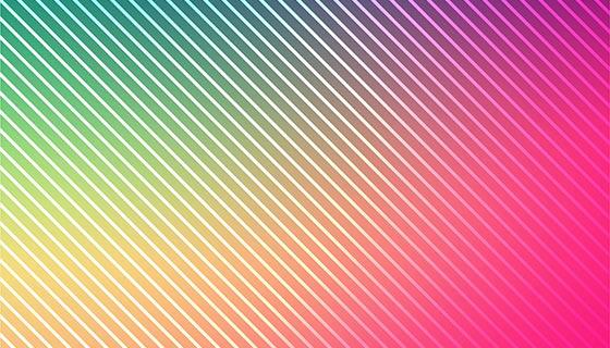 抽象多彩的线条背景矢量素材(EPS)