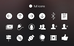 iOS 7标签栏图标Tab Bar Icons iOS 7